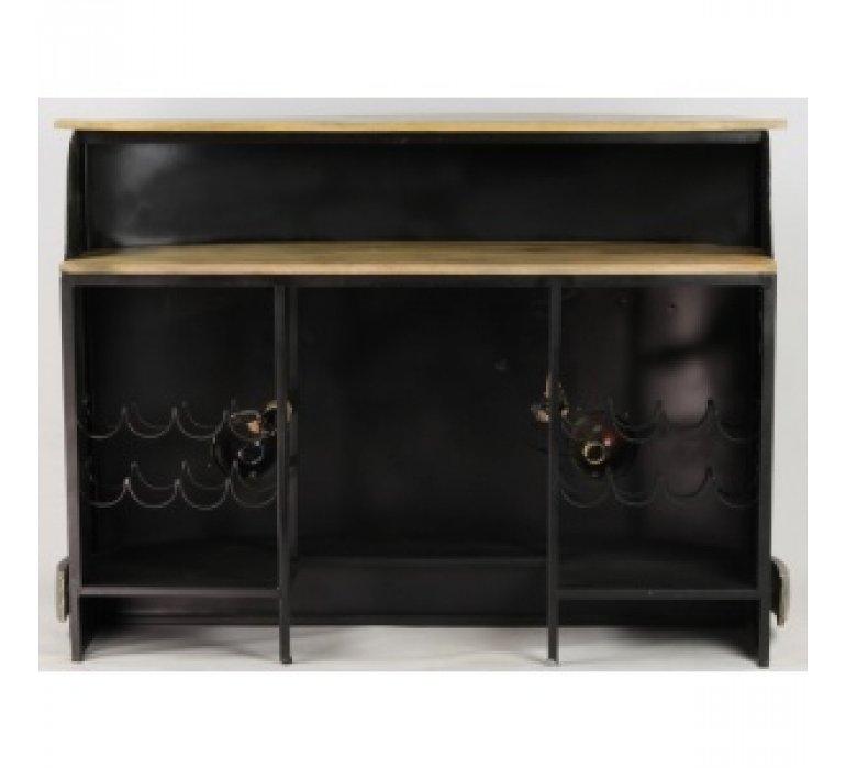 meuble bar industriel metal coxcombi