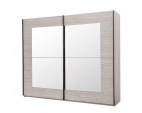armoire chambre adulte en bois laquee