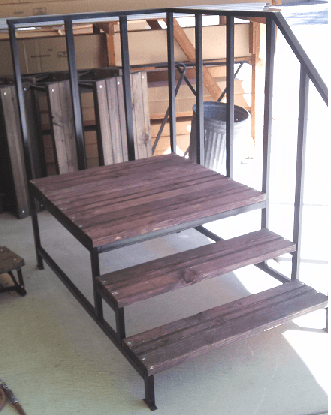 Steps With Platform MampM Home Supply Warehouse