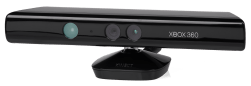 Microsoft Kinect v1 Sensor (Quelle: Wikimedia Commons)