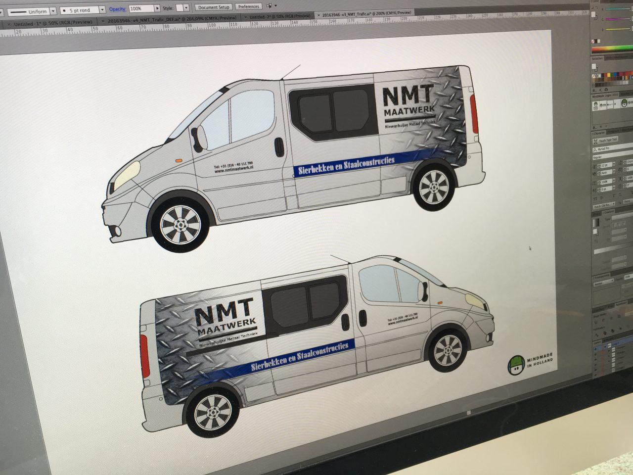 NMT Maatwerk - Ontwerp
