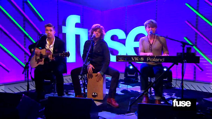 "Video: FUSE - Hanson Belt Out an Acoustic Rendition of ""Get the Girl Back"""