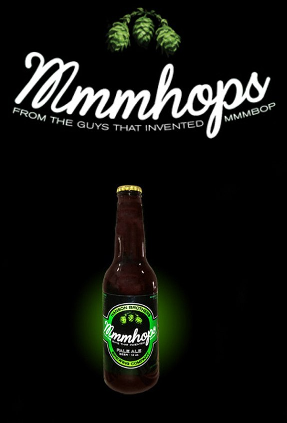 Hanson brothers launch Mmmhops beer. Seriously.