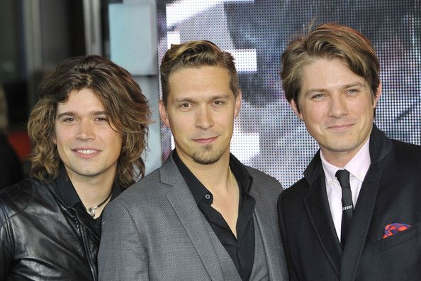 Hanson brothers all grown up and back in the studio