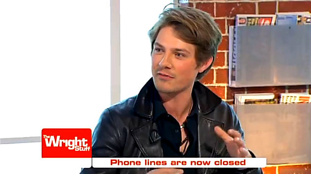 Video: Taylor Hanson on The Wright Stuff [UK]