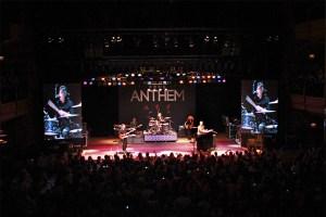 Hanson performing at the Wildhorse Saloon in Nashville. Photo Credit: Joe Koch