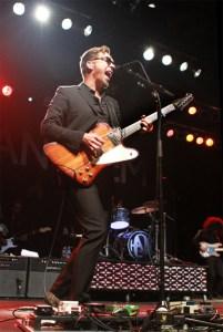 Isaac Hanson performing at the Wildhorse Saloon in Nashville. Photo Credit: Joe Koch