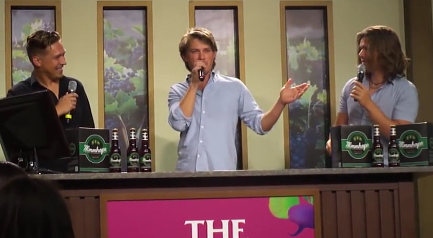 Video: Hanson Epcot Food and Wine Festival MMMHops Seminar 2014
