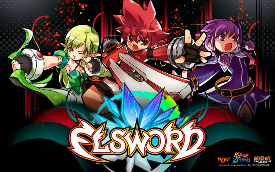 Best Free Anime MMORPG and MMO Games List  2018  Free MMO Games Anime  Elsword Online 6