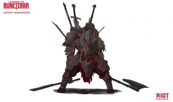 Arte do personagem Runeterra 1