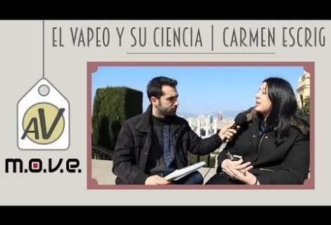 Entrevista a la Doctora Carmen Escrig por el almacén del vapeo