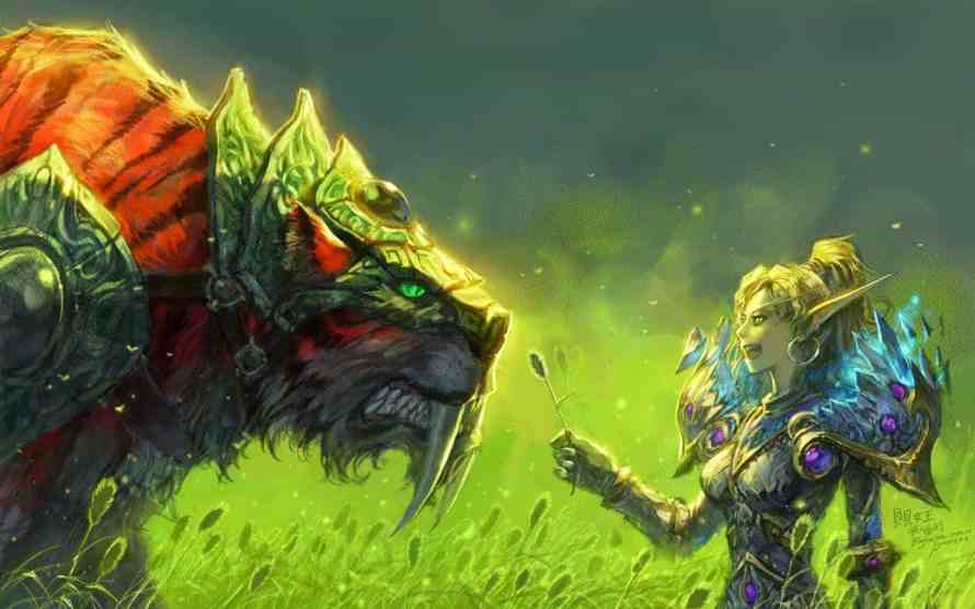 Mascota de Cazador en World of Warcraft Classic