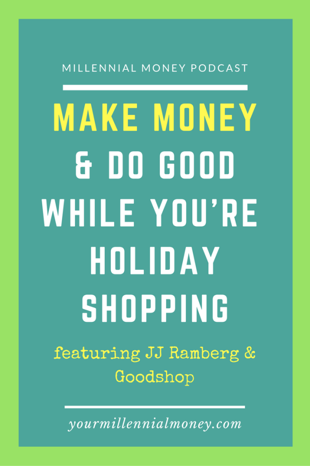Goodshop is offering you the perfect solution to shopping - save money and do good at the same time.