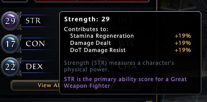 neverwinter build ability scores