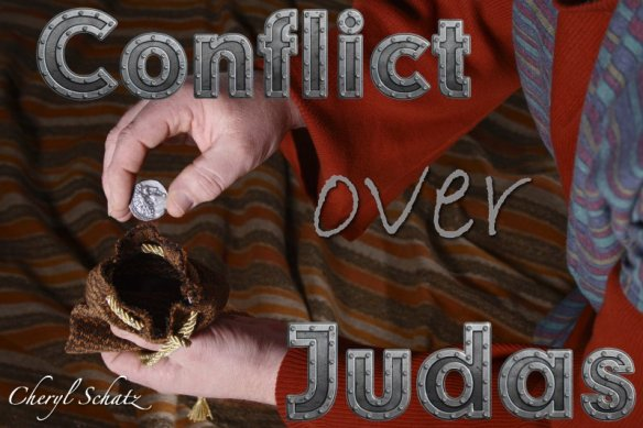 The conflict over Judas on The Giving blog by Cheryl Schatz