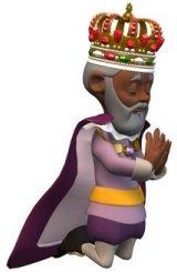 King praying on Women in Ministry by Cheryl Schatz