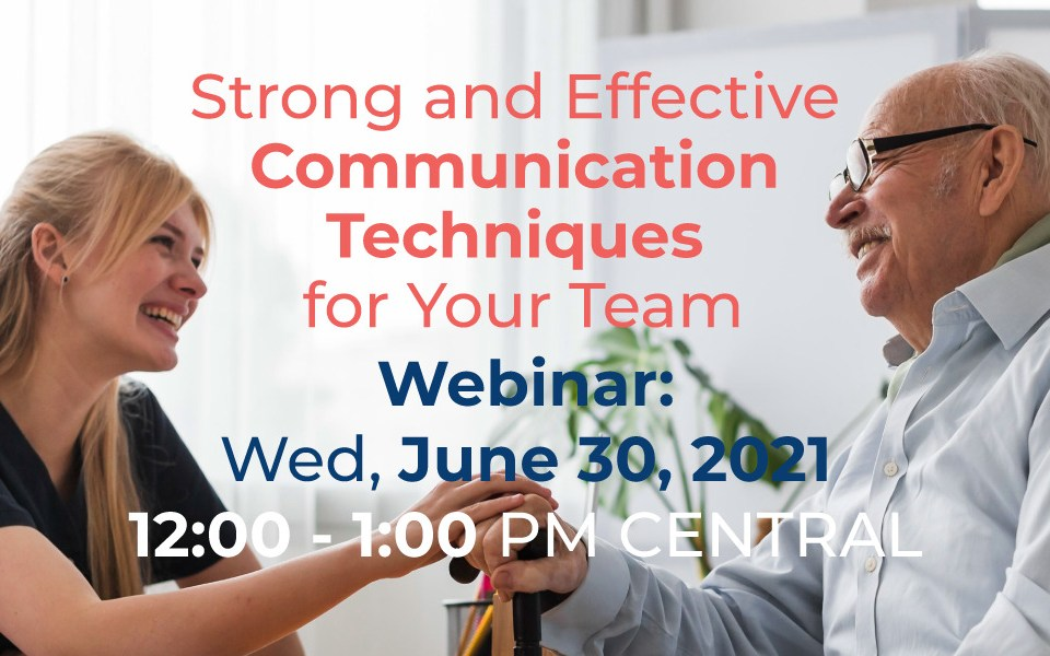 Strong an Effective communication techniques Webinar