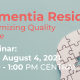 Maximizing Quality of Life for Dementia Patients