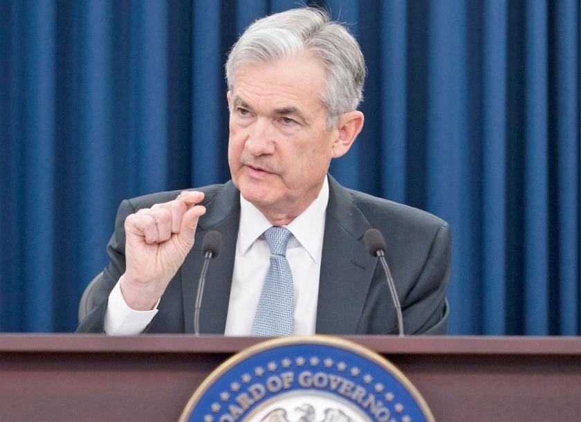 US Federal Reserve Board Chairman Jerome Powell. Photo - EPA