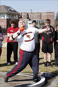 "Olympic Trials Contender Jeffery Chakouian, 68' 10"""