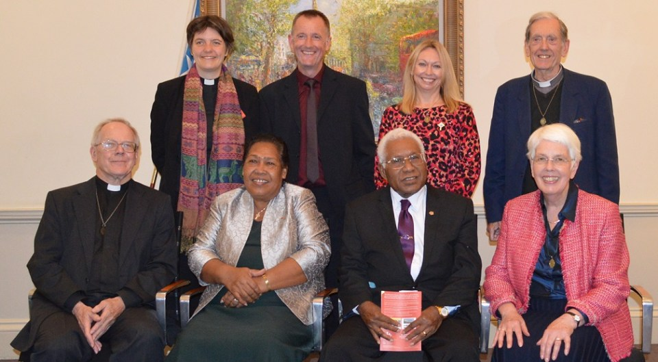 Past and present Melanesian Mission trustees