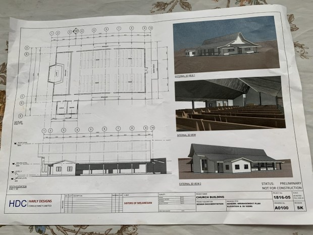 Community of the Sisters of Melanesia New Chapel Plans