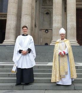 Sam Rylands Ordination at St Paul's