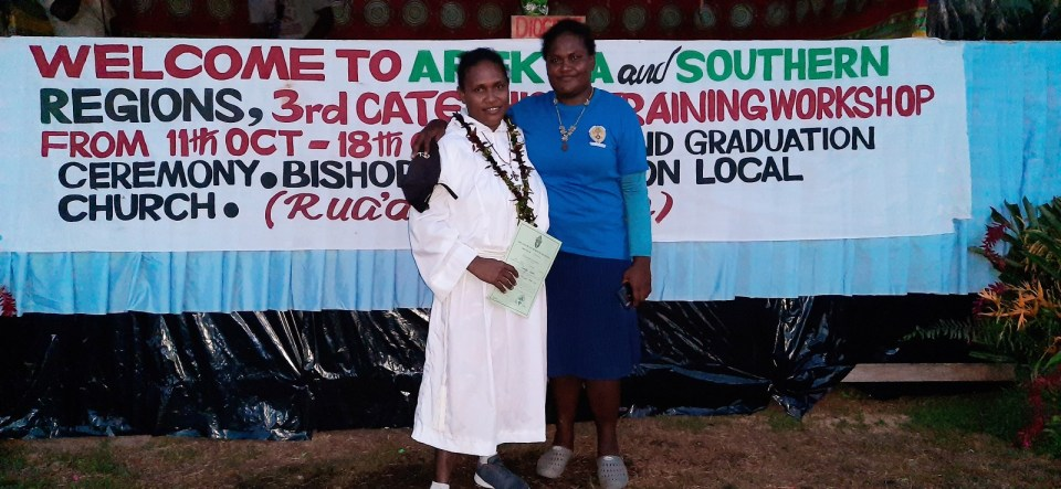 Women Catechists; Diocese of Malaita