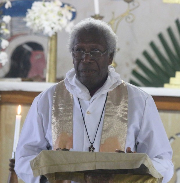 Rt Rev Ben Seka, Bishop of the Diocese of Central Solomons