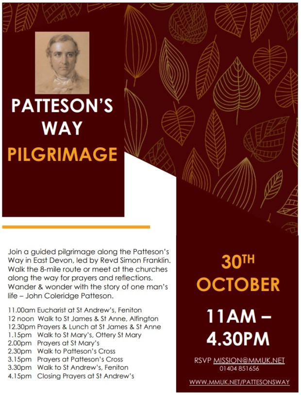 A Guided Pilgrimage Along The Patteson's Way Poster