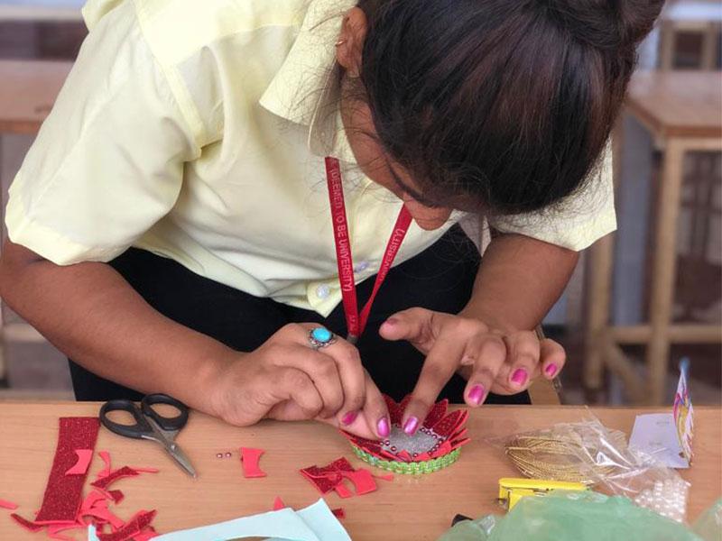 Rakhi Making Competition