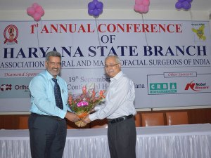 Annual Conference of Haryana Chapter of AOMSI.