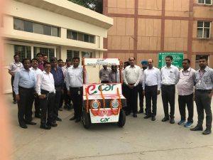 Inauguration of E-Car Designed