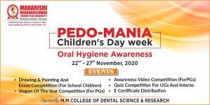 "Children's Day week celebration as ""Pedo-Mania"""