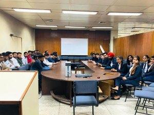 Industrial visit at Puncom, Mohali