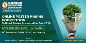 Online Poster Making Competition on National Energy Conservation Day, 2020