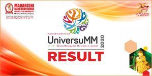 UniversuMM 2020 Result