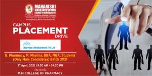 Placement Drive – Noveau Medicament