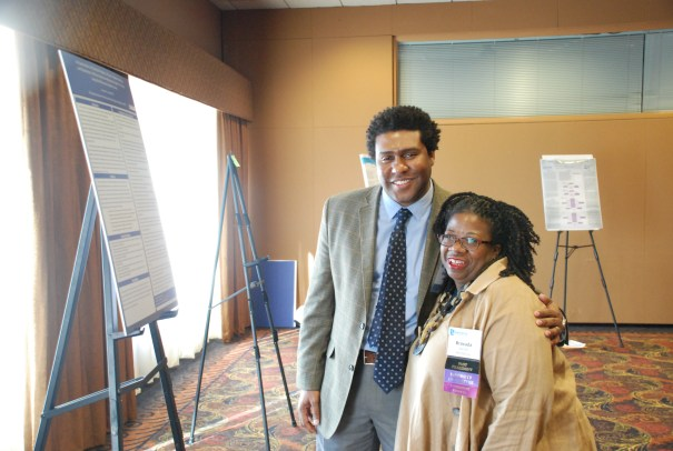 Argosy Student Donala Jordan with Dr. Brvada Garrett-Akinsanya