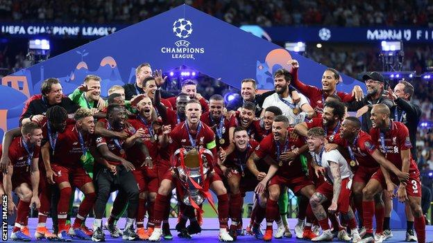 Liverpool won the European Cup for the sixth time with victory over Tottenham in June