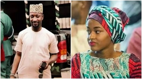 Anthony Okolie and Hanan Buhari