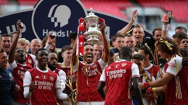 Arsenal Won 19-20 FA cup