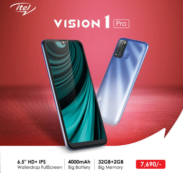 Itel Vision 1 Pro unveiled