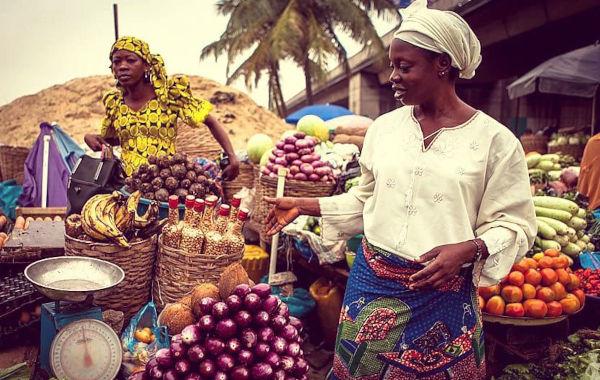 Nigerian Market Women