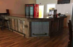 Minnesota Raw Barnwood Bar