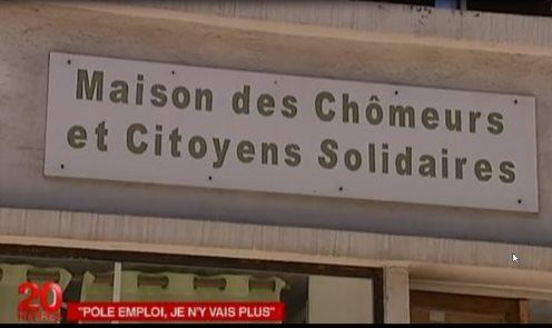 Les chômeurs de Montpellier sur France 2!