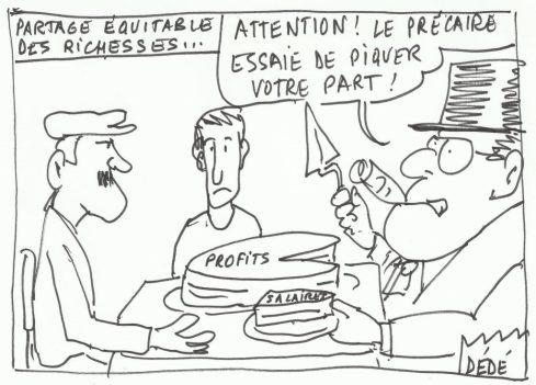 PARTAGE EQUITABLE DES RICHESSES