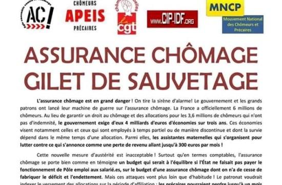 Assurance chômage, gilet de sauvetage (Collectif UNEDIC)