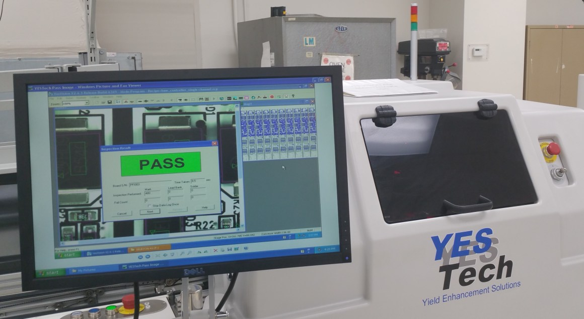 YesTech F1 Inline Automated Optical Inspection