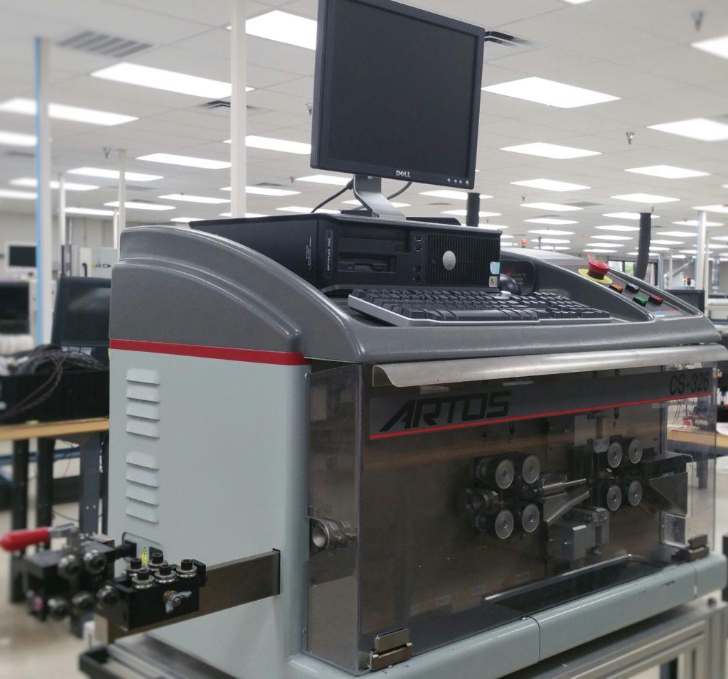 Artos CS-326 Wire Cutting and Stripping Machine